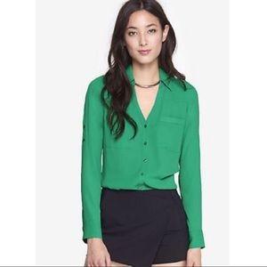 Express Green Portofino Shirt